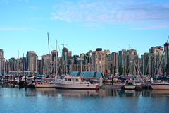 Vancouver harbor. royalty free stock image