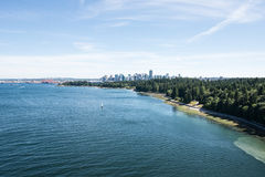 Vancouver Harbor and Harbor Royalty Free Stock Photography