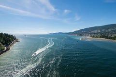 Vancouver Harbor Stock Photo