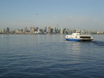 Vancouver Harbor Transit Ferry Royalty Free Stock Photos