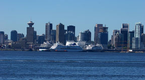 Vancouver Harbour stock photography