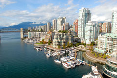 Vancouver Harbour royalty free stock image