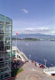Vancouver Harbour British Columbia Canada. Vancouver Harbour from Canada Place stock photos