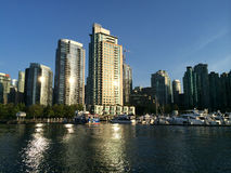 Vancouver Harbour, British Columbia, Canada Royalty Free Stock Photo