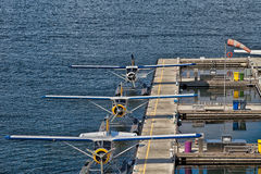 Vancouver Harbour Flight Centre Seaplane Terminal Royalty Free Stock Photography