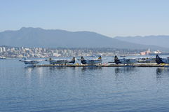 Vancouver Harbour Water Airport stock image