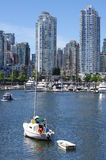 Vancouver high-rise condominiums Stock Photo