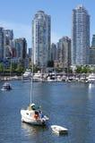 Vancouver high-rise condominiums Stock Photo