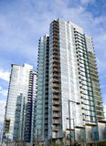 Vancouver High Rises Royalty Free Stock Images