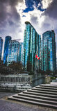 Vancouver Highrises obrazy royalty free