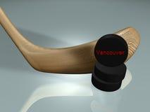 Vancouver hockey Stock Image