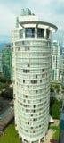 Vancouver-hoher Anstieg Buliding stockbild