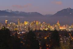 Vancouver horisont Arkivbild