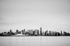 Vancouver horisont Arkivbilder
