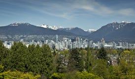 Vancouver horisont Arkivfoto