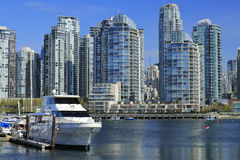 Vancouver horisont royaltyfria foton