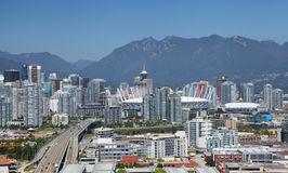 Vancouver i Kanada arkivfoto