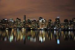 Vancouver im Stadtzentrum gelegen. stockbild