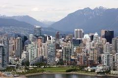 Vancouver im Stadtzentrum gelegen Stockfoto