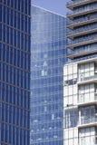 Vancouver im Stadtzentrum gelegenes Windows Lizenzfreie Stockbilder