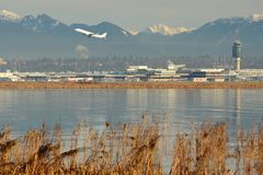 Vancouver International Airport, YVR Royalty Free Stock Photo