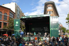 Vancouver International Jazz Festival Stock Image