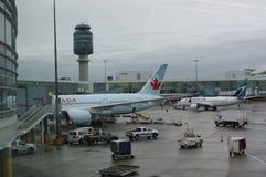 Vancouver-internationaler Flughafen Stockbild