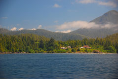 Vancouver Island. West coast of Vancouver Island royalty free stock photography