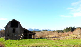 Vancouver Island Barn Stock Photos