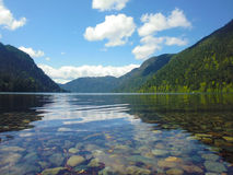 Vancouver Island Canada - Cameron Lake Stock Photography
