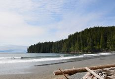 Vancouver Island China Beach Landscape Royalty Free Stock Photo