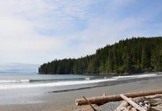 Vancouver Island China Beach Landscape Royalty Free Stock Photo
