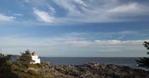Vancouver Island - Lighthouse. Vancouver Island and lighthouse - Pacific Ocean and Lucluelet lighthouse stock images