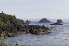 Vancouver Island west coast Stock Photos