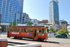 Het Systeem van het Vervoer van de Bus van Vancouver, Canada Royalty-vrije Stock Foto
