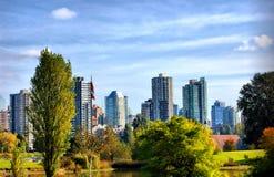 Vancouver Kanada Arkivbild
