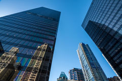 Vancouver Kanada, Czerwiec, - 20, 2017: Wysocy wzrosty w Vancouver ` s dow obrazy stock