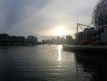 Vancouver Kanada hav Arkivbild