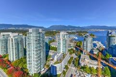 Vancouver, Kanada linia horyzontu obrazy royalty free