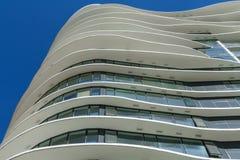 Vancouver Kanada - Maj 20, 2017, arkitektur och byggnader i centrum Arkivbilder