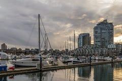 Vancouver Kanada - mars 23, 2016 Fotografering för Bildbyråer
