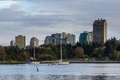 Vancouver Kanada - mars 23, 2016 Arkivfoto