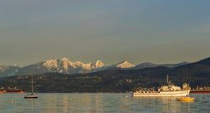 Vancouver Kanada - mars 18, 2016 marina Royaltyfri Foto