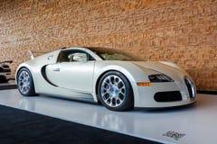 Vancouver Kanada, Marzec, - 2018: Bugatti Veyron terenówka, brać przy 2018 Vancouver Międzynarodowym Auto przedstawieniem fotografia royalty free
