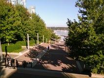 Vancouver, Kanada - 2018 Podróżuje fotografię Vancouver miasto, jeden ważni miasta Kanada obrazy royalty free