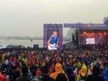 Vancouver Kanada, Wrzesień, - 9th, 2018: Duży tłum ogląda ` Mo zdjęcia royalty free