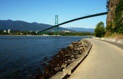 Vancouver krajobrazu Zdjęcia Royalty Free