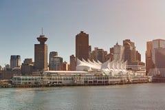 Vancouver-Kreuzfahrt-Hafen Stockfoto