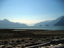 Vancouver kustlinje Arkivbilder