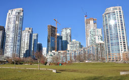 Vancouver Land Development and Real Estate Royalty Free Stock Image